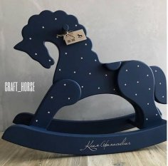 Rocking horse Free Vector