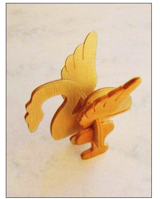 Bird Laser Cut DXF File