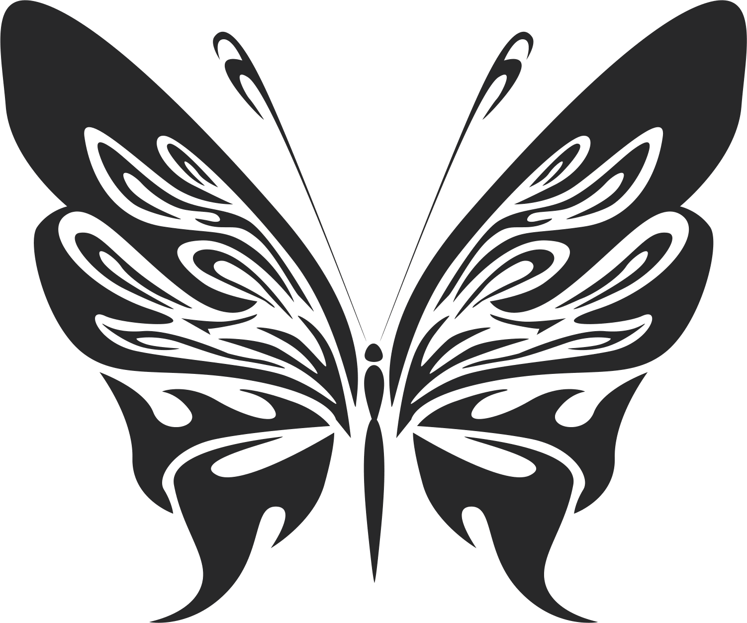 Butterfly Vector Art 7 Free Vector