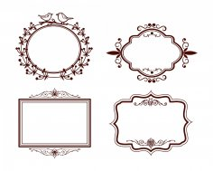 Frames Designs dxf File
