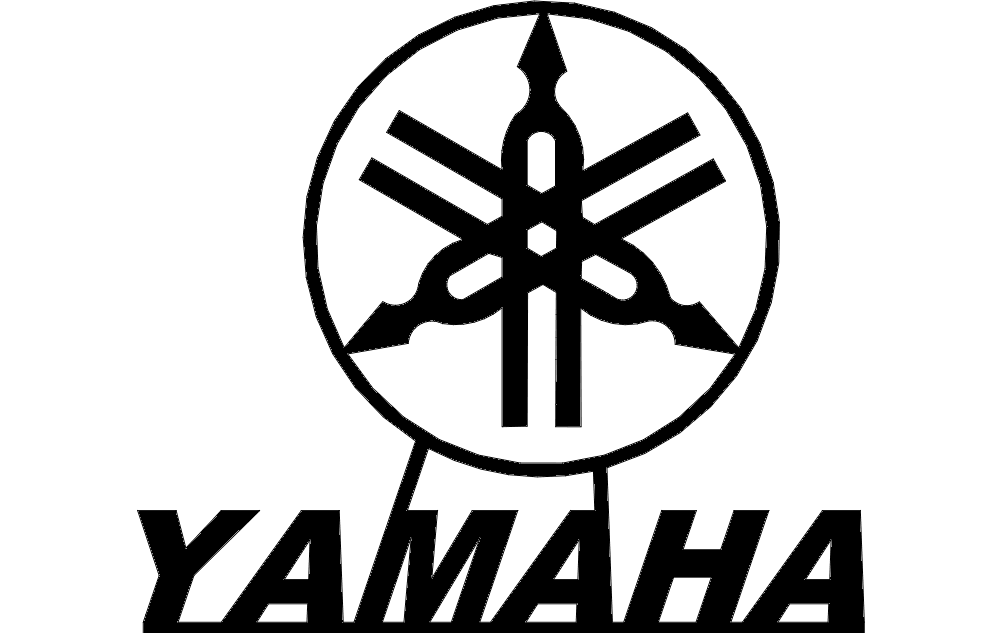 Yamaha Logo Dxf File Free Download 3axis Co