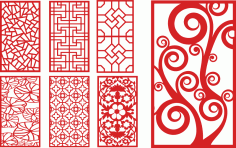 Laser Cut Decorative Panels Decorative Screens Free Vector