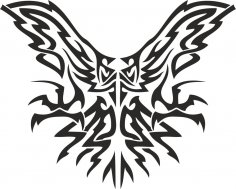 Tribal Eagle Free Vector
