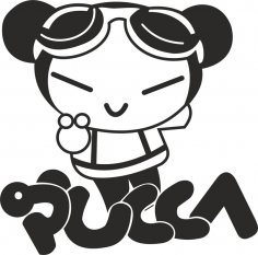 Pucca Free Vector
