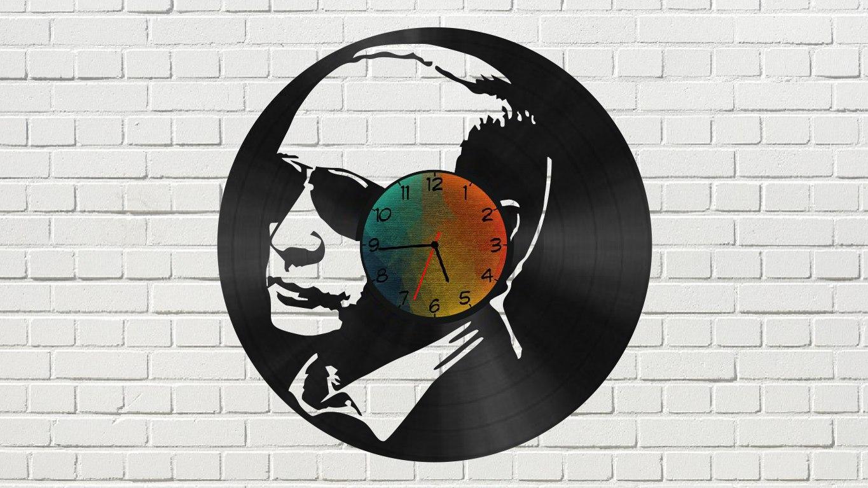 Putin Vinyl Clock Free Vector