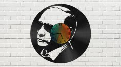 Putin Vinyl Clock CDR File