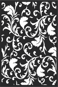 Decorative vintage floral pattern Free Vector