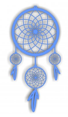 Dream Catcher Free Vector For Cutting Free Vector