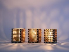 Night Light Lamps Laser Cut Free Vector