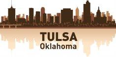 Tulsa Skyline Free Vector