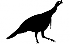 Birds Silhouette 2 dxf File