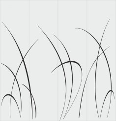 Leaves Blasting Stencils Sandblasting Free Vector