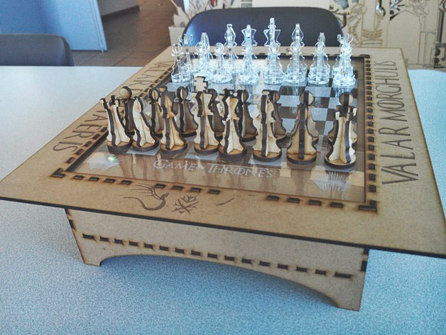 Chess Board Free Vector