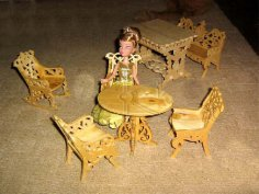 Mini Dollhouse Furniture CDR File