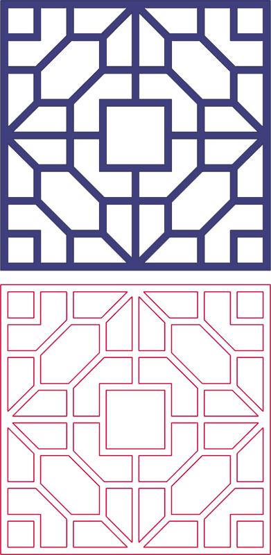 Dxf Pattern Designs 2d 137 DXF File