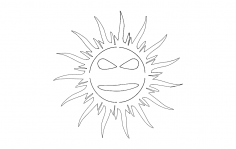 Cool Sun dxf File
