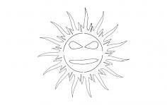 Cool Sun dxf File