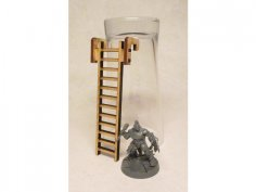 Ladder 2 3mm DXF File