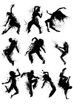 Hip Hop Dance Vectors