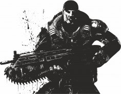 Gears Of War Vector Free Vector