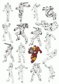 Iron Man Vectors