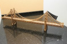 Olden Gate Bridge Laser Cut CNC Plans Free Vector