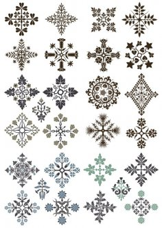 Ornamental Floral Patterns Free Vector