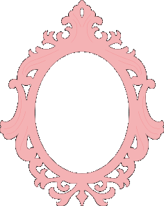 Mirror Frame Laser Cut Template Free Vector