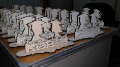 Laser Cut College Souvenirs Shields Free Vector