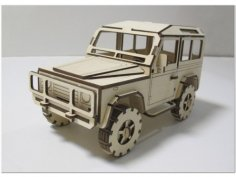 Laser Cut Land Rover Defender DXF File