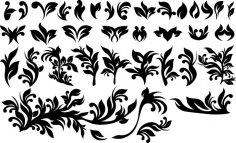 Vector Floral Design EPS File