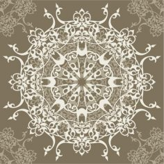 European Pattern Vector Fashion Free Vector