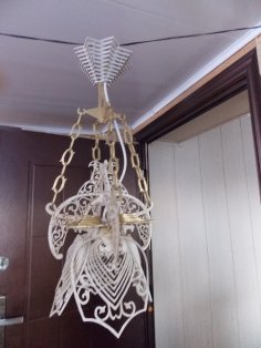 Laser Cut Ceiling Light Lamp 4mm Free Vector