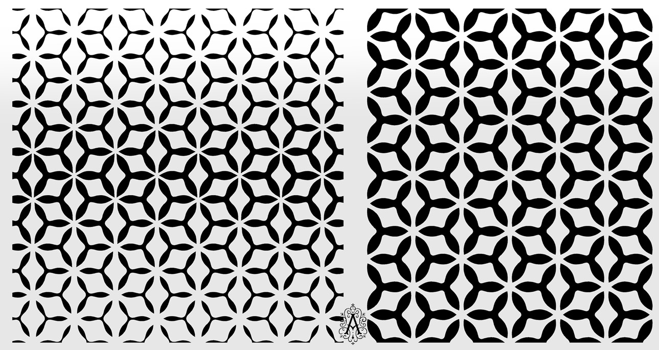 Abstract Background Geometric Pattern Design DXF File
