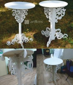 Decor Table DXF File