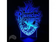 Ravenclaw House Crest DXF File
