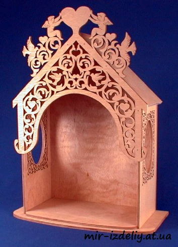 Angel Display Stand Laser Cut PDF File