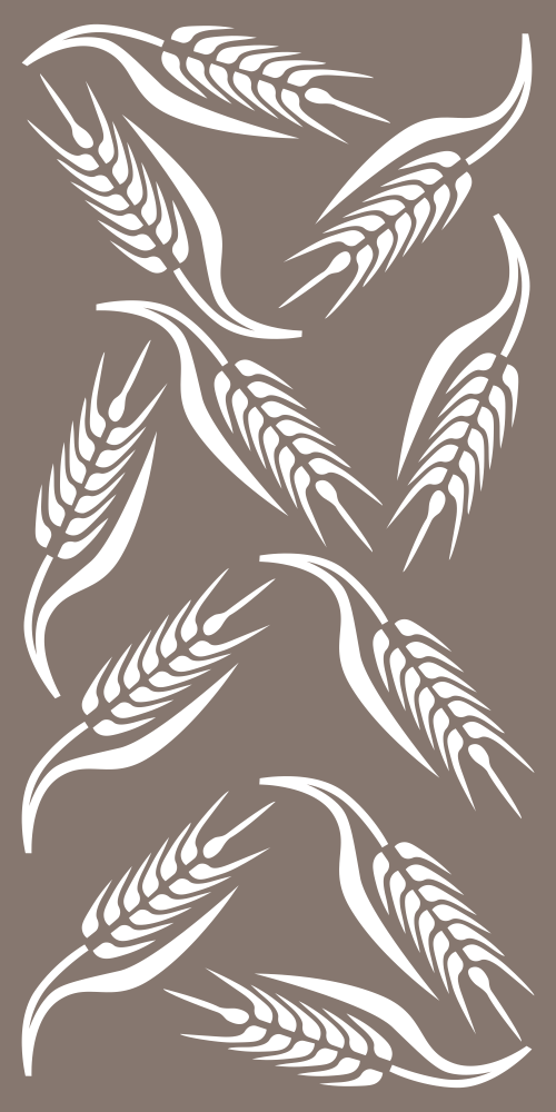 Wheat Pattern Vector Free Vector