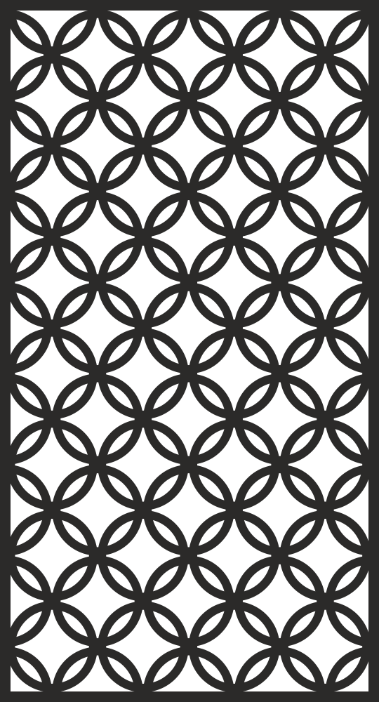 Room Divider Screen Pattern Free Vector