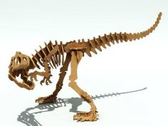 Allosaurus R 6 Mm dxf File